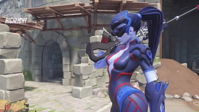 Watch and share Widowmaker GIFs and Highlight GIFs by not bad on Gfycat