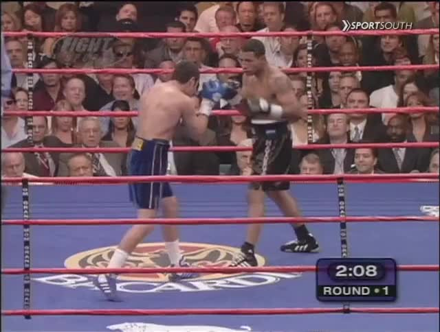 Watch Promoter Oscar De La Hoya puts down the famously iron-chinned Ricardo Mayorga (Canelo-GGG Bonus Content) GIF by Tom_Cody (@tomcody) on Gfycat. Discover more Boxing, Knockdown, Oscar De La Hoya, Ricardo Mayorga GIFs on Gfycat