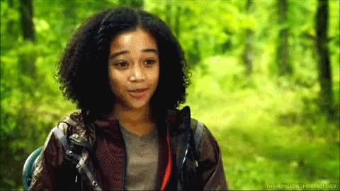 Watch Rue GIF on Gfycat. Discover more Black Hollywood, Normani Kordei, Willow Smith, amandla stenberg, black girls rock, blackish, culture, disney, hiphop, music, yara shahidi, young hollywood, zendaya GIFs on Gfycat