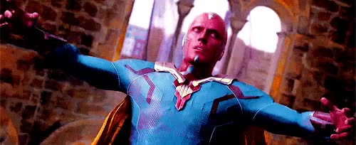 Watch this paul bettany GIF on Gfycat. Discover more 2k, age of ultron, avengers, avengers: age of ultron, i cna;t get over this i'm crying, james spader, marvel edit, mine, paul bettany, quicksiluers, the vision, ultron, vision, visionedit GIFs on Gfycat