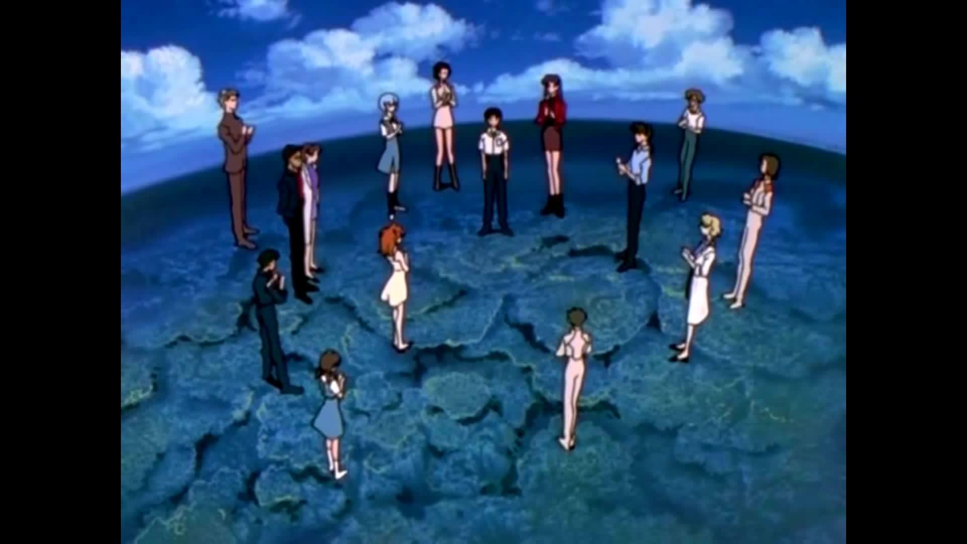 DotA2, animated cartoon (tv genre), neon genesis evangelion (adapted work), Evangelion Congratulations GIFs