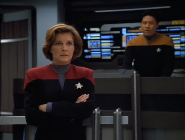 Watch Janeway Annoyed GIF by murphs33 (@murphs33) on Gfycat. Discover more Janeway, Star Trek: Voyager GIFs on Gfycat