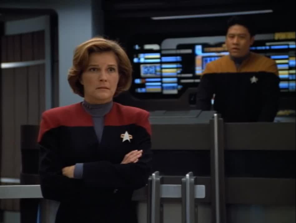Janeway, Star Trek: Voyager, Janeway Annoyed GIFs