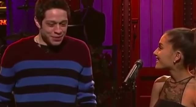 Watch this pete davidson GIF by GIF Queen (@ioanna) on Gfycat. Discover more I, ariana, awkward, couple, cry, davidson, emotional, go, grande, i, left, live, night, no, pete, sad, saturday, should, snl, tears, whatever GIFs on Gfycat