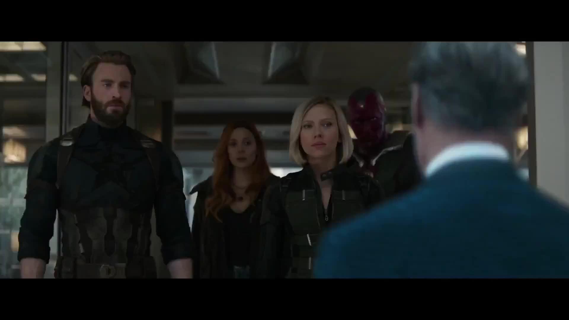 Steve Rogers Confronta General Ross Vingadores Guerra Infinita