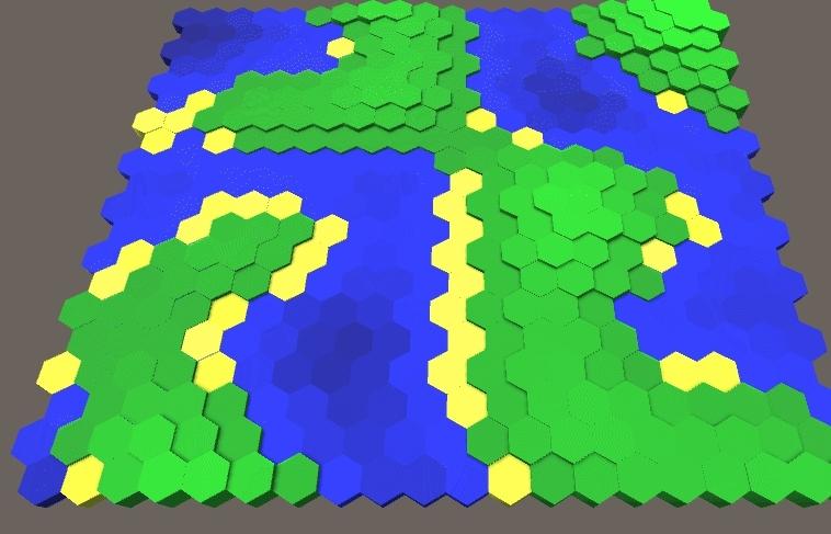 unity2d, Hexmap GIFs
