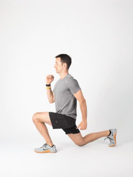 Watch and share PERFECT-SERIES LUNGE ALTERNATIVE SPLIT-LUNGE-JUMP GRAIN (1) GIFs by Healthline on Gfycat