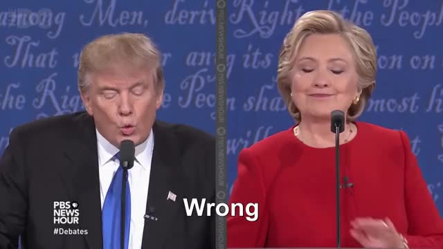 Watch this donald trump GIF by @naengmyeon on Gfycat. Discover more donald trump, hillary clinton, saying, trump, wrong GIFs on Gfycat