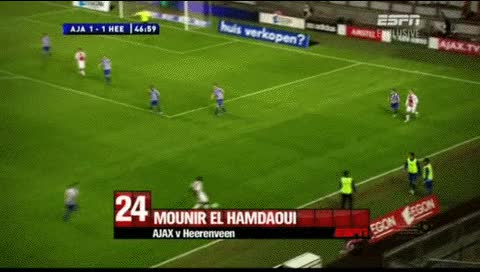 Watch and share Mounir El Hamdaoui. Ajax - Heerenveen. 2010-11 GIFs by fatalali on Gfycat