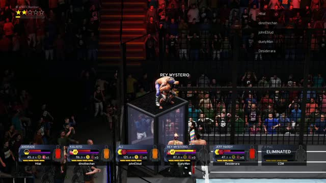 Watch and share WWE 2K20 Glitch GIFs by spcgame on Gfycat