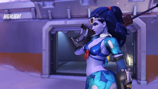 Watch and share Widowmaker GIFs by outatime131 on Gfycat