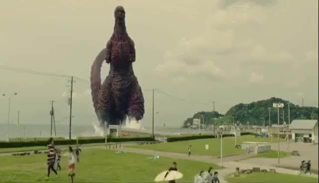 Watch and share Shin Godzilla - All Godzilla Scenes (So Far) In Chronological Order GIFs on Gfycat