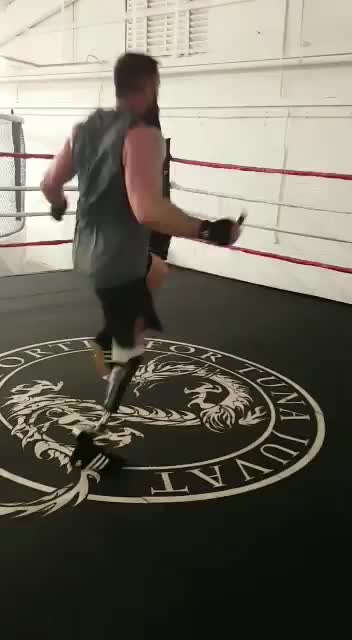 Watch Boxer Michael Lewis using the Ottobock Challenger foot during training GIF on Gfycat. Discover more Michael Lewis, Ottobock, Prosthetics, RoyalLegion GIFs on Gfycat