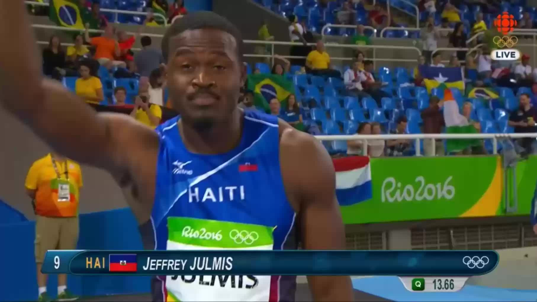 Usain Bolt can't beat Jeffrey Julmis GIFs