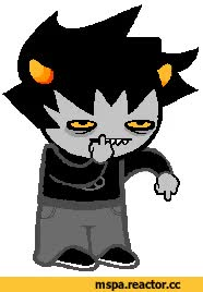 Watch and share MS Paint Adventures MSPA Karkat Vantas GIFs on Gfycat