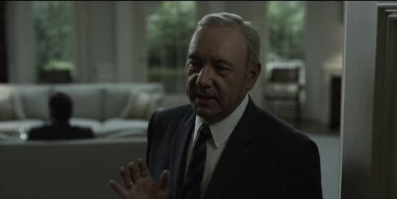 house of cards, houseofcards, kevin spacey, Frank gives you the finger GIFs