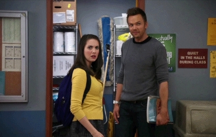 alison brie, community, i don't know, i dunno, idk, joel mchale, I don't know - Long GIFs