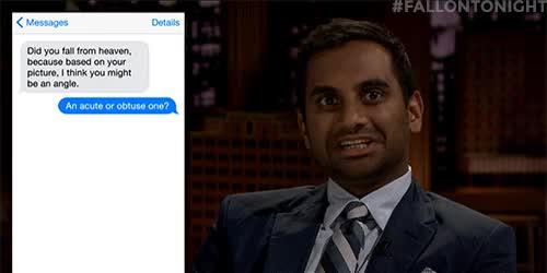 Watch and share Jimmy Fallon GIFs and Aziz Ansari GIFs on Gfycat