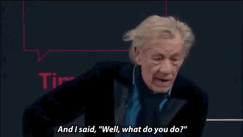 Watch this GIF on Gfycat. Discover more ian mckellen GIFs on Gfycat