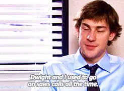 Watch and share John Krasinski GIFs and Dwight Schrute GIFs on Gfycat