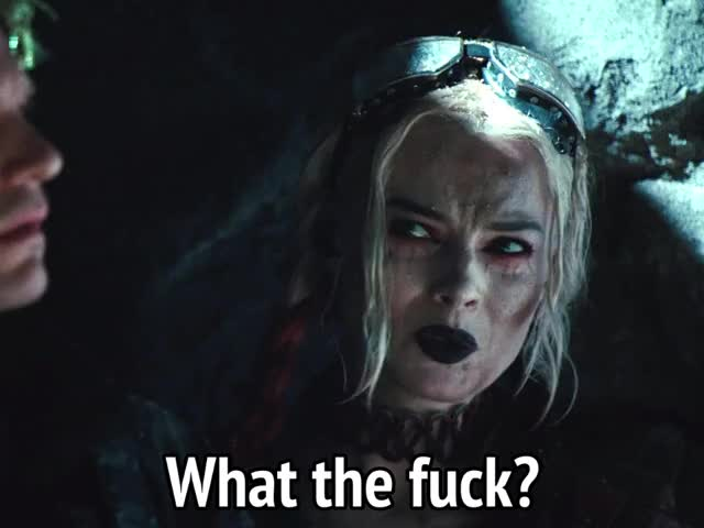 Watch and share Margot Robbie GIFs and What The Fuck GIFs by MikeyMo on Gfycat