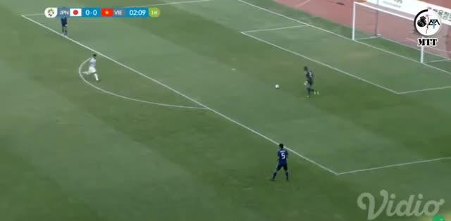 Watch and share Quang Hải - O. Việt Nam 1-0 O. Nhật Bản (Asiad 2018) GIFs by Phong Mieu Nguyen on Gfycat