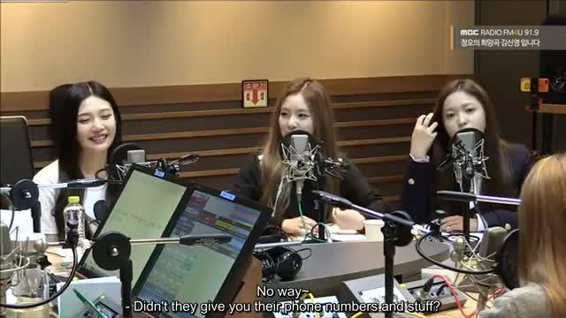 ENG SUB] 150924 'Hope Song Of Noon' Radio Red Velvet FULL