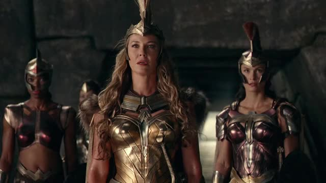 Watch Amazons Vs Steppenwolf | Justice League (2017) Movie Clip GIF On  Gfycat.