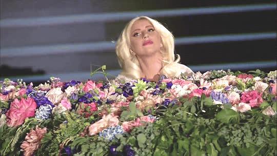 lady gaga, stefani germanotta, Lady Gaga John Lennon GIFs
