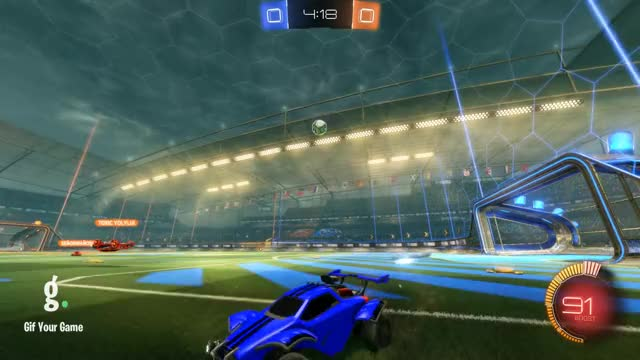 Watch Goal 1: Jeb GIF by Gif Your Game (@gifyourgame) on Gfycat. Discover more Gif Your Game, GifYourGame, Goal, Jeb, Rocket League, RocketLeague GIFs on Gfycat