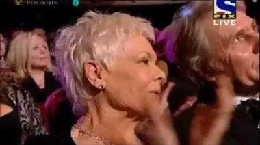 Watch and share Dame Judi Dench GIFs and Anne Hathaway GIFs on Gfycat