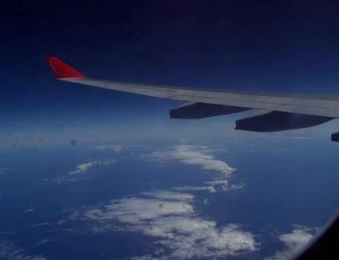 Watch and share Flug Über Das Meer Richtung Puerto Plata GIFs on Gfycat