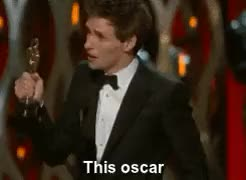 Watch and share 87th Academy Awards GIFs and Stephan Hawking GIFs on Gfycat