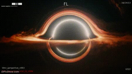 Watch and share Kip Thorne Helped Them Make The Images Of The Black Hole In The Interstellar Movie: GIFs on Gfycat