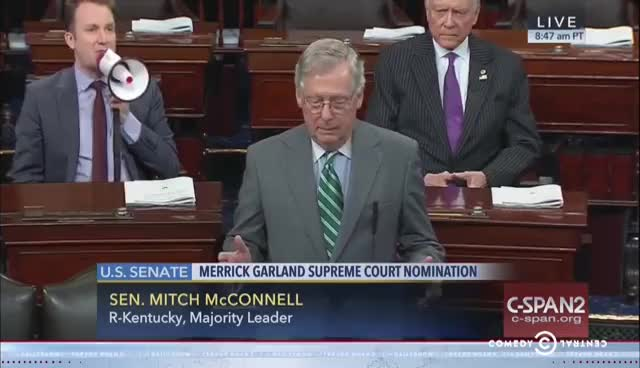 mitch mcconnell, politics, You´re making this sh*t up GIFs