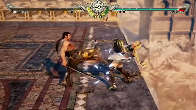 Watch Soul Calibur 6 Gameplay - Mitsurugi Vs Sophitia GIF by @lucebuce on Gfycat. Discover more Soul Calibur 6 Gameplay, Soul Calibur 6 Mitsurugi, Soul Calibur 6 stages, soul Calibur 6 PS4 gameplay GIFs on Gfycat