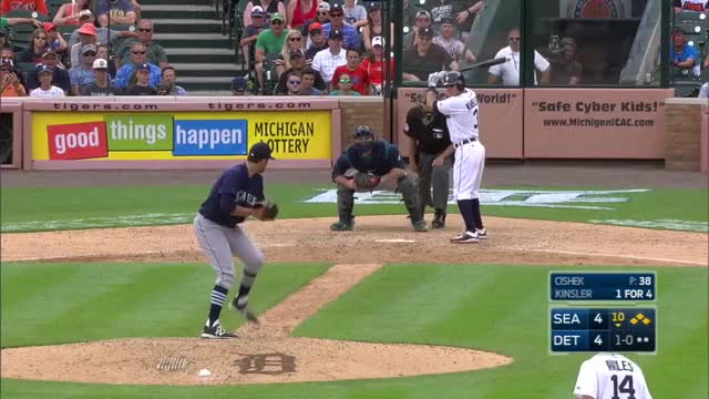 Watch and share Tigers Walk Off On A Wild Pitch GIFs on Gfycat