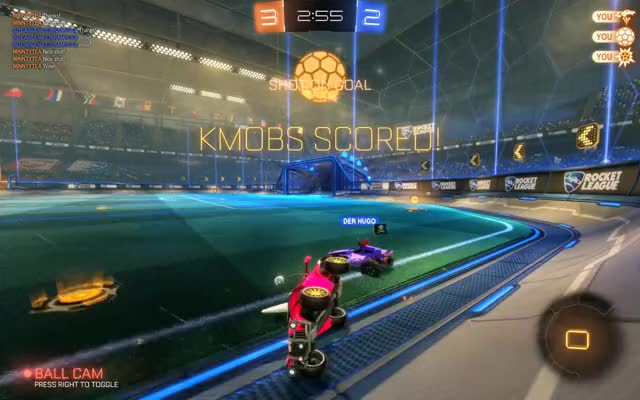 Watch and share Rocket League GIFs and Two Touches GIFs by kmobli on Gfycat