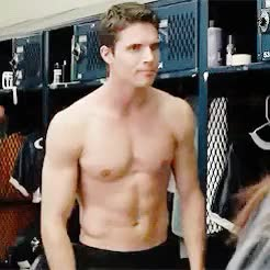 Watch this trending GIF on Gfycat. Discover more ***, 500, Robbie Amell, The Duff, The Duff movie, Wesley Rush, but no seriously guys... if you've read the book, hahahaha., i honestly want to see it again., it's still a really good movie!, not just because of Robbie's shirtless scenes..., see it anyway!! GIFs on Gfycat