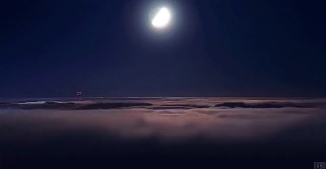 Watch Moon and cloudlapse (reddit) GIF on Gfycat. Discover more gfycats GIFs on Gfycat