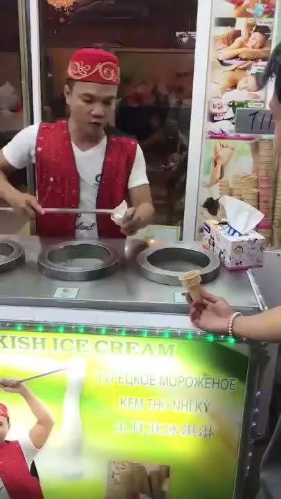 sstphnn, Turkish Ice cream GIFs