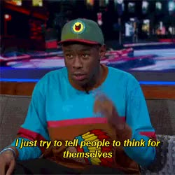 Watch and share Artists On Tumblr GIFs and Tyler The Creator GIFs on Gfycat