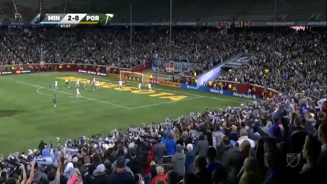 Watch and share 3rd Minny Goal Portland V Minnesota 22sep2018 GIFs by C.I. DeMann on Gfycat