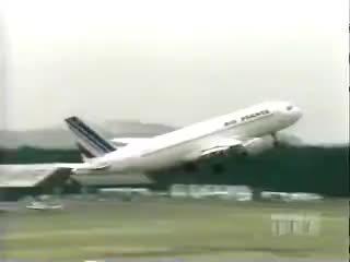 Air France Flight 296 | Airbus A320 Crash GIFs