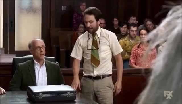 Watch and share Its Always Sunny In Philadelphia - Charlie Kelly, A Bird Lawyer GIFs on Gfycat