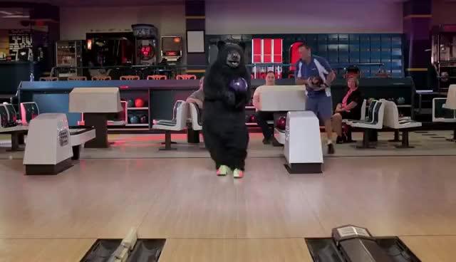 Bowling Bear GIFs