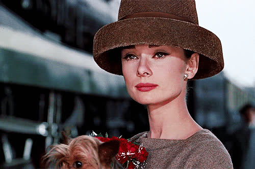 audrey hepburn, Audrey Hepburn in a Givenchy hat, Funny Face (1957) GIFs