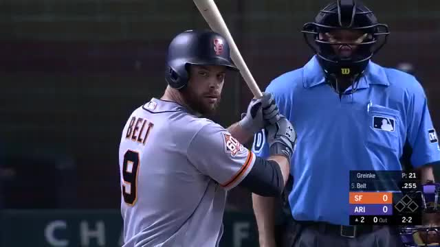 Watch Belt Home run 4-19-18 GIF by @justinmasonfwfb on Gfycat. Discover more Brandon Belt, Giants, Homerun GIFs on Gfycat