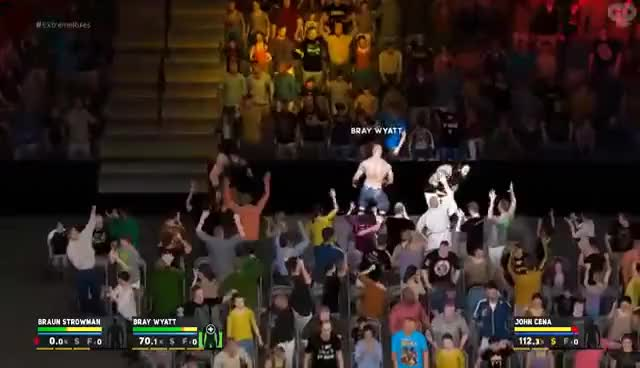Watch WWE 2K17 | Universe Mode - 'EXTREME RULES PPV!' (PART 2) | #08 GIF on Gfycat. Discover more related GIFs on Gfycat