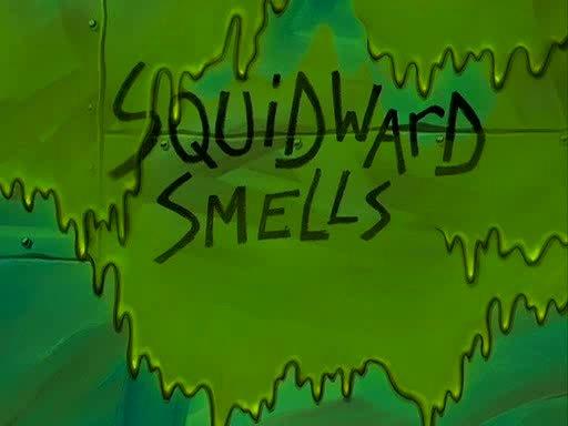 tinder, Squidward smells GIFs